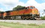 BNSF 5468 on SB freight