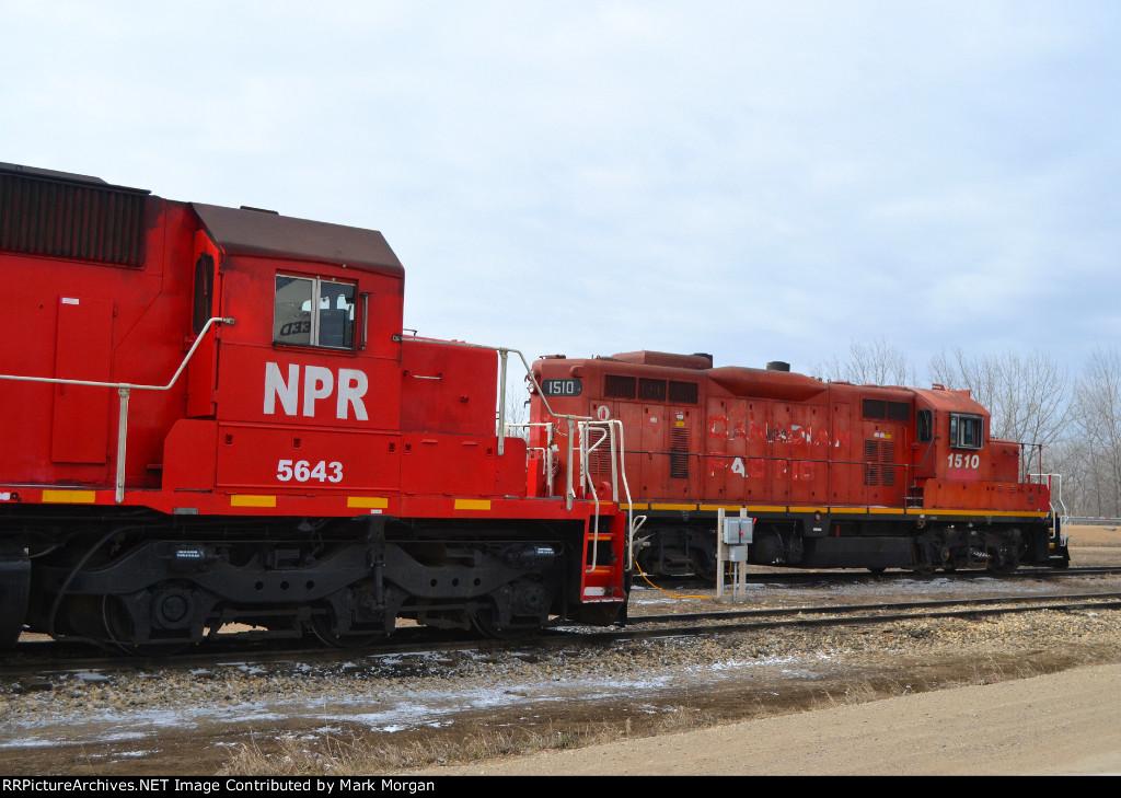 NPR SD40-2 5643