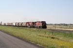 Classic CP Power on a Grain Train