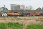 AKDN power with ATSF caboose