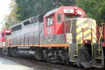 One of the newer additions to the BB fleet is # 13, a former KCS GP-40