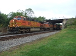 BNSF 5448 and 4583