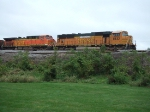 BNSF 8833 and 5705