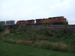 BNSF 4403 and 1035