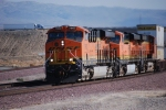 BNSF 7902 with BNSF 7561 behind her roll westbound.