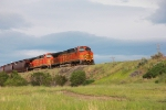 BNSF 5509 and 5510