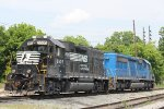 NS GP38-2 5505. CEFX SD40-2 3159.