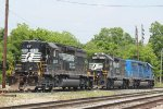 NS SD40-2 3306. NS GP38-2 5505. CEFX SD40-2 3159.