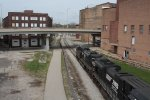 Warehouse District and the old Nickel Plate Line