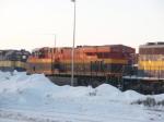 DM&E 6363, KCS 4708, & DM&E 6367