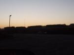 Yard at Dusk