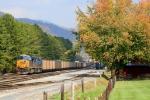 CSX 850 loaded coal south end Erwin yard