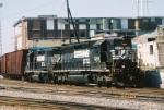 NS SD40-2 3278 & NS GP38-2 5207