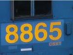 CSX 8865