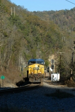 elkhorn city ky off the siding and heading noth