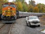 BNSF 5136 Ringling Bros. Train
