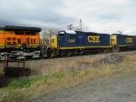 CSX 2305 Helper on Circus Train