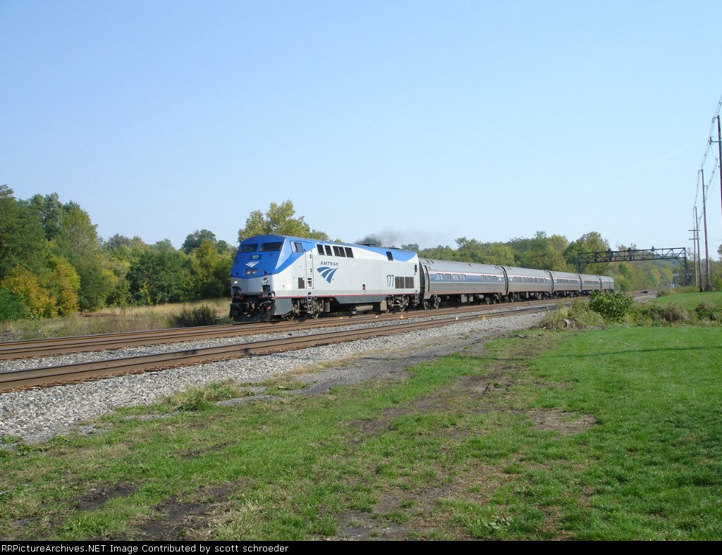Amtrak (AMTK) 177 WB on the #1 Track