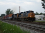 CSX 4837 (and beautiful i might add) working a COFC EB on the #1 Track