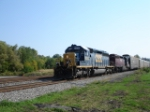 "CSX 8208 & HLCX 6203 WB on the ""West Shore Branch"""