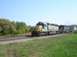 "CSX 8150 & HLCX 9003 WB on the ""West Shore Branch"""