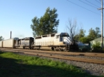 GCFX 3099 & HLCX 9038 EB on the #1 Track