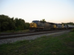 3 Generations of CSX power work this WB TOFC on the #1 Track