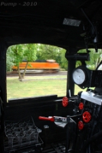 Westbound BNSF Intermodal Train From the Steam Engine