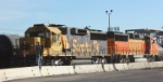 BNSF 8736 and 140