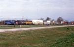 SB intermodal in the siding