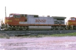 BNSF 723 on WB freight