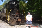 A picture of me in front of Hiawassee River Railroad 2391