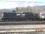 NS 2651 is idle in the Shenandoah yard.