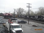 Norfolk Southern in Shenandoah yard