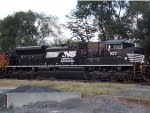 Another view of the Norfolk Southern Colt in Harrisonburg