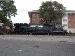 Newly Painted Norfolk Southern #7006 in Harrisonburg, Va Yard