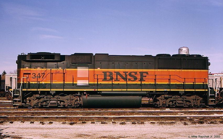 BNSF GP60B 347