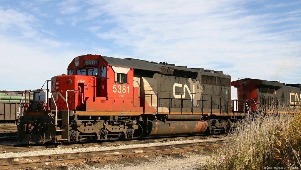 CN SD40-2 5381