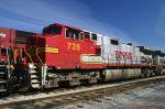 BNSF CW44-9 728