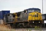 CSX CW40-8s 7786 & 7701