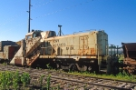 CNW X263000, wedge plow, ex CNW 1684, ALCO RSD5, at the BSRY