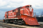 KBSR ex TPW 402, ALCO RS11 snow plow sits on the KBSR