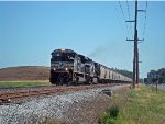 NS loaded grain southbound train hit a throttle up increase of speeds