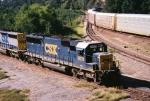 CSX SD50 8603