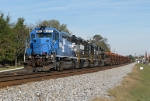 NS 914 with a blue leader sitting at Douglasville