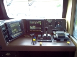 Cab shot of BNSF 5012