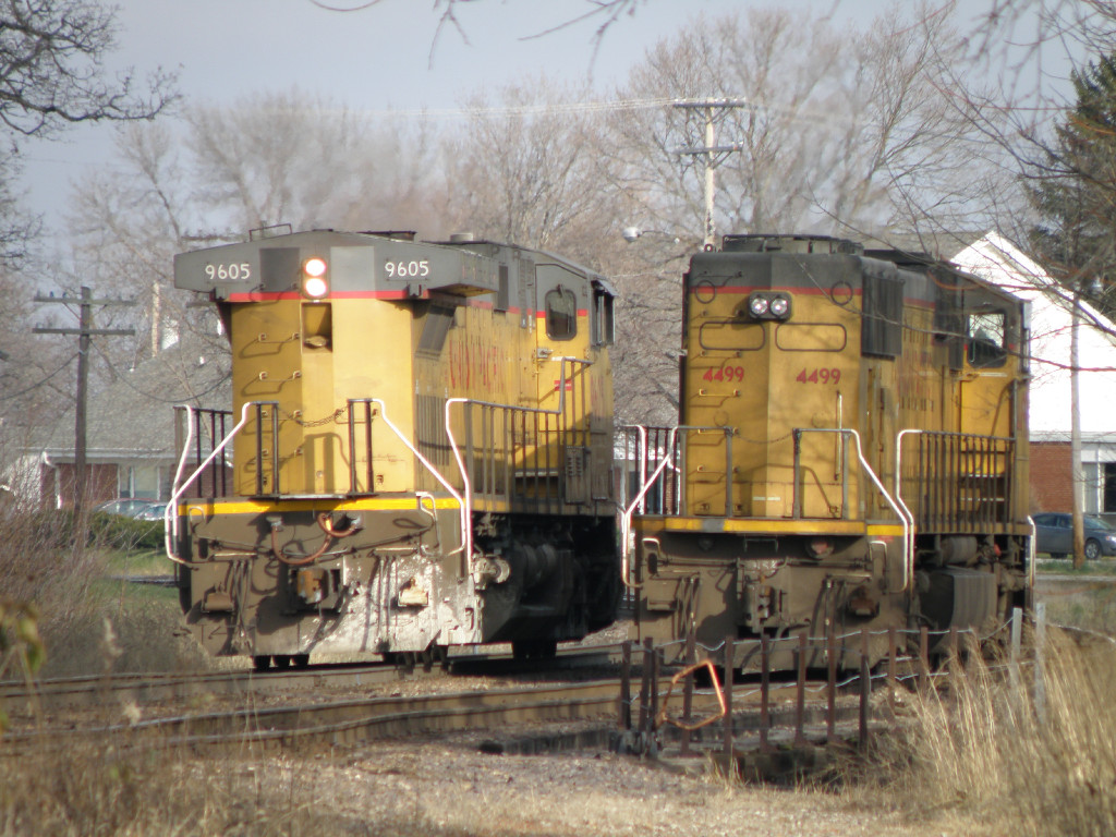 UP 9605-UP 4499