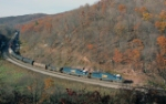 CSX action from Glencoe Overlook