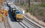 CSX 5312 Leaves Cumberland, MD