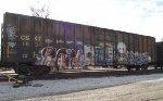 Tagged CSX Boxcar